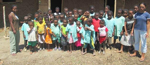 La rentrée scolaire à Tandila