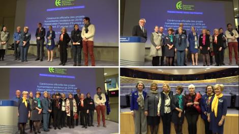 Notre projet soutenu par l'association Femmes d'Europe