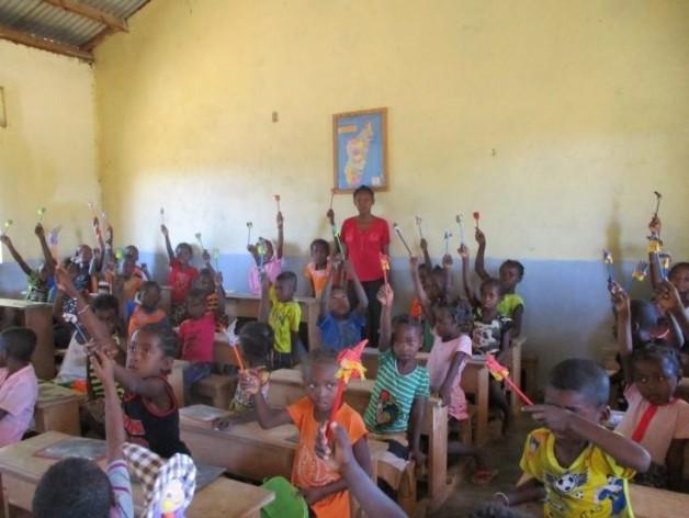 Rentrée scolaire à Andrenalafotsy – 2018-2019